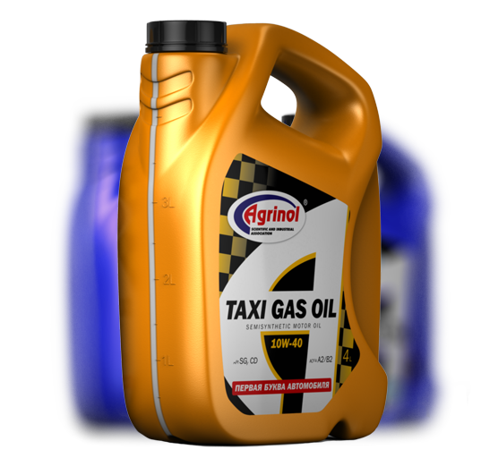 TAXI GAS OIL 10W-40 SG/CD